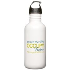 Occupy Fresno Water Bottle