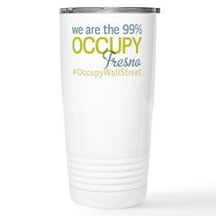 Occupy Fresno Travel Mug