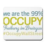 Occupy Freiburg im Breisgau Mousepad