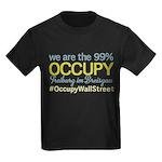 Occupy Freiburg im Breisgau Kids Dark T-Shirt