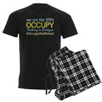 Occupy Freiburg im Breisgau Men's Dark Pajamas