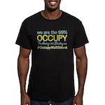 Occupy Freiburg im Breisgau Men's Fitted T-Shirt (