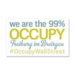 Occupy Freiburg im Breisgau Car Magnet 20 x 12