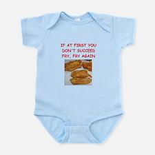 fried chicken joke Infant Bodysuit