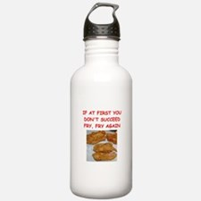 fried chicken joke Water Bottle