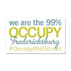Occupy Fredericksburg Car Magnet 20 x 12