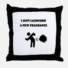 I just launched a new fragrance Throw Pillow