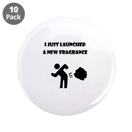 """I just launched a new fragrance 3.5"""" Button (10 pa"""