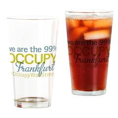 Occupy Frankfurt Drinking Glass
