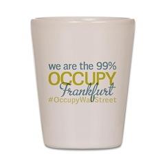 Occupy Frankfurt Shot Glass