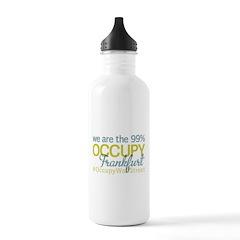 Occupy Frankfurt Water Bottle