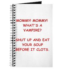 vampire joke Journal