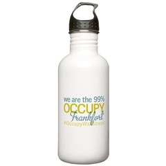 Occupy Frankfort Water Bottle