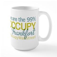 Occupy Frankfort Large Mug