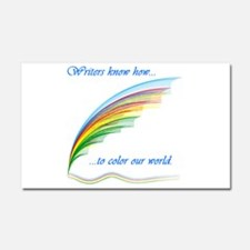 Writers know how... Car Magnet 20 x 12