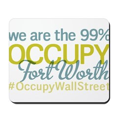 Occupy Fort Worth Mousepad