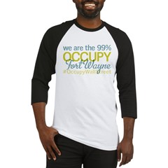 Occupy Fort Wayne Baseball Jersey