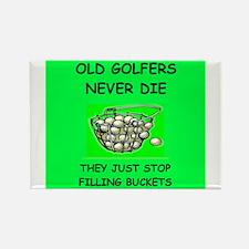 funny golf joke Rectangle Magnet