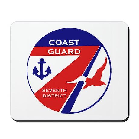 Seventh Coast Guard District Mousepad