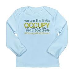 Occupy Fort Walton Beach Long Sleeve Infant T-Shir