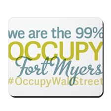 Occupy Fort Myers Mousepad