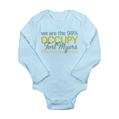 Occupy Fort Myers Long Sleeve Infant Bodysuit