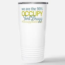 Occupy Fort Bragg Stainless Steel Travel Mug