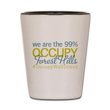 Occupy Forest Hills Shot Glass
