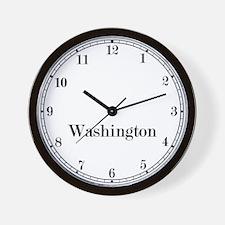 Washington D.C. Classic Newsroom Wall Clock