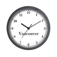 Vancouver Classic Newsroom Wall Clock