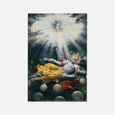 Maha Vishnu Rectangle Magnet