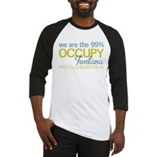 Occupy Fontana Baseball Jersey