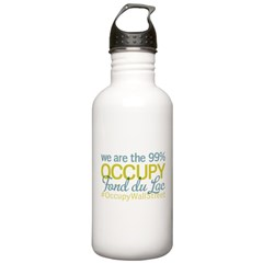 Occupy Fond du Lac Water Bottle