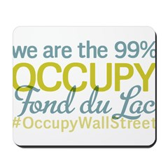 Occupy Fond du Lac Mousepad