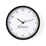 Sydney time zone Basic Clocks