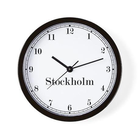 Stockholm Classic Newsroom Wall Clock