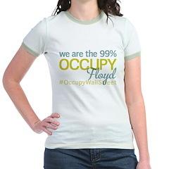 Occupy Floyd Jr. Ringer T-Shirt