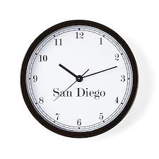 San Diego Classic Newsroom Wall Clock
