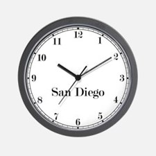 San Diego Classic Newsroom Wall Clock