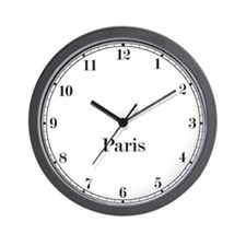 Paris Classic Newsroom Wall Clock