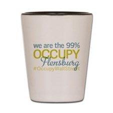 Occupy Flensburg Shot Glass