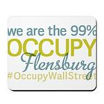 Occupy Flensburg Mousepad