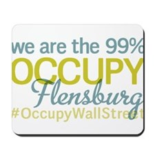 Occupy Flensburg Mousepad