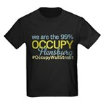 Occupy Flensburg Kids Dark T-Shirt