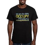 Occupy Flensburg Men's Fitted T-Shirt (dark)