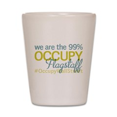 Occupy Flagstaff Shot Glass