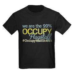 Occupy Flagstaff Kids Dark T-Shirt