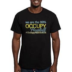 Occupy Flagstaff Men's Fitted T-Shirt (dark)