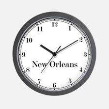New Orleans Classic Newsroom Wall Clock