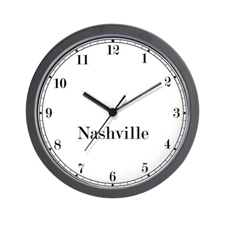 Nashville Classic Newsroom Wall Clock